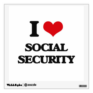 I love Social Security Room Graphics