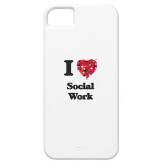 I Love Social Work iPhone 5 Covers