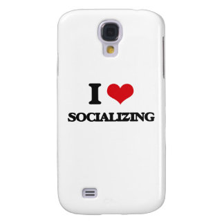 I love Socializing Galaxy S4 Cases