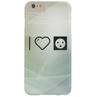 I Love Socket Electricals Barely There iPhone 6 Plus Case
