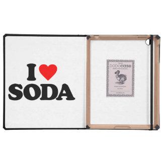 I LOVE SODA iPad COVERS
