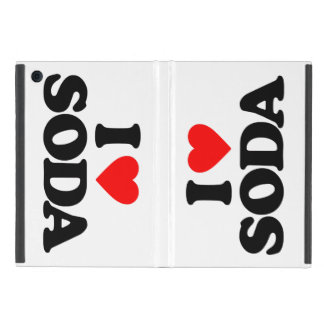 I LOVE SODA iPad MINI COVER
