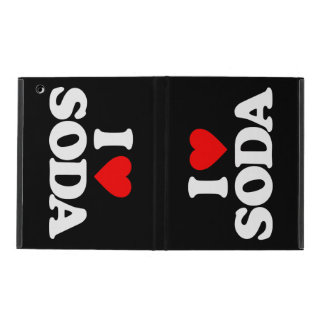 I LOVE SODA iPad FOLIO CASE