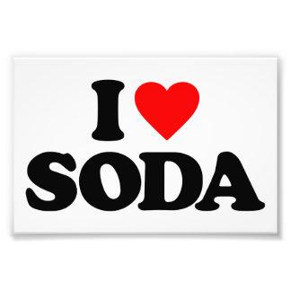 I LOVE SODA PHOTOGRAPH