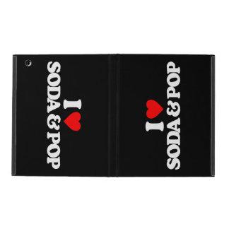I LOVE SODA & POP iPad COVER