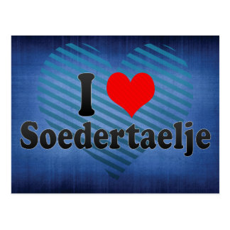 I Love Soedertaelje, Sweden Postcard