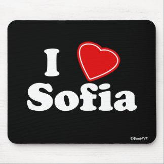 I Love Sofia Mouse Pad