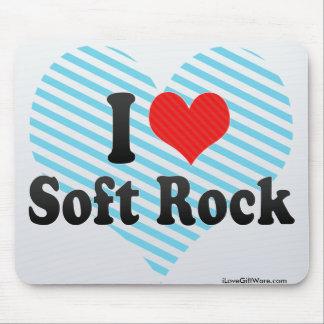 I Love Soft Rock Mouse Pad