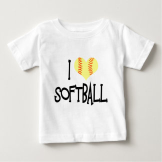 I love softball baby T-Shirt