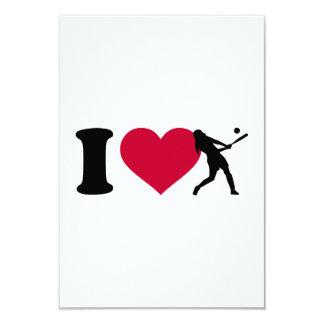 I love Softball Card