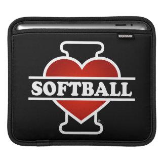 I Love Softball Sleeve For iPads