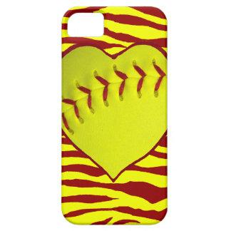 I Love Softball iPhone SE/5/5s Case
