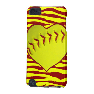 I Love Softball iPod Touch 5G Cover