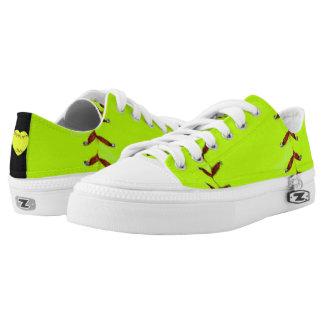 I Love Softball Low-Top Sneakers