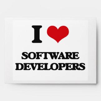 I love Software Developers Envelope