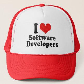 I Love Software Developers Trucker Hat