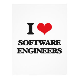 I love Software Engineers Flyers