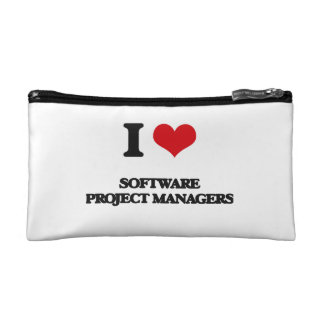 I love Software Project Managers Cosmetic Bag