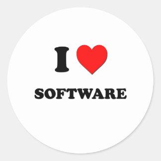 I love Software Sticker