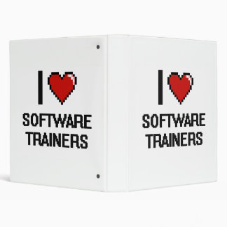 I love Software Trainers 3 Ring Binders