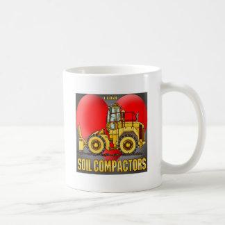 I Love Soil Compactors Coffee Mug
