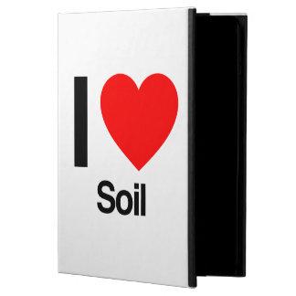 i love soil iPad air cases