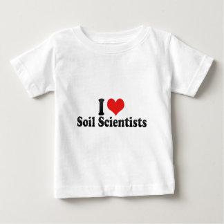I Love Soil Scientists Tshirt