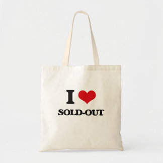 I love Sold-Out Budget Tote Bag