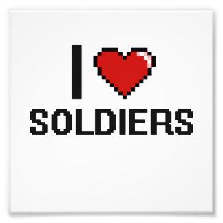 I love Soldiers Photo Print