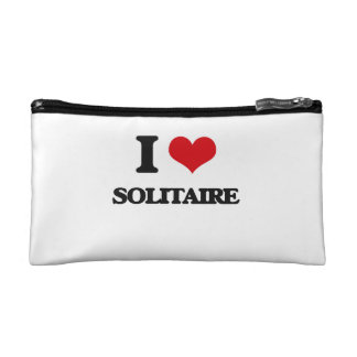 I love Solitaire Makeup Bags
