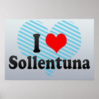 I Love Sollentuna, Sweden Poster