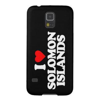 I LOVE SOLOMON ISLANDS CASE FOR GALAXY S5