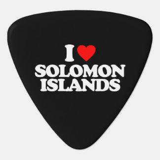 I LOVE SOLOMON ISLANDS GUITAR PICK