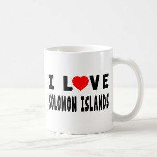 I Love Solomon Islands Coffee Mug