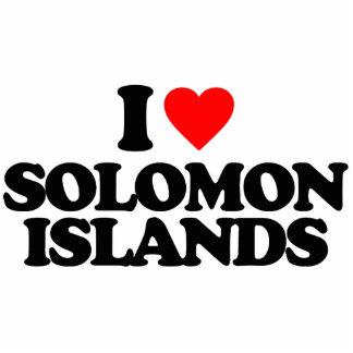 I LOVE SOLOMON ISLANDS PHOTO CUTOUTS