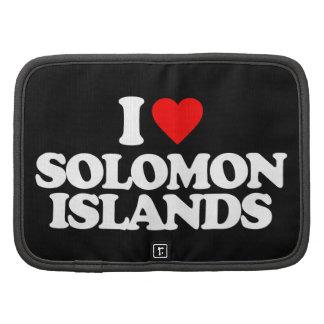 I LOVE SOLOMON ISLANDS PLANNER