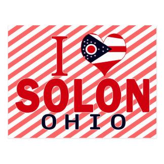 I love Solon, Ohio Postcard