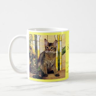 I love Somali Cats mug