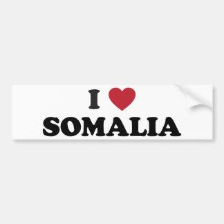 I Love Somalia Bumper Sticker