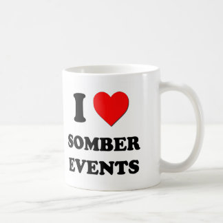 I love Somber Events Coffee Mug