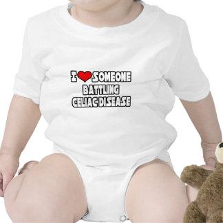 I Love Someone Battling Celiac Disease Baby Creeper