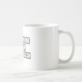 I Love Someone Battling Hypothyroidism Classic White Coffee Mug