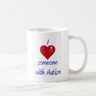 I love someone w Autism Coffee Mug
