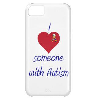 I love someone w Autism iPhone 5C Cover