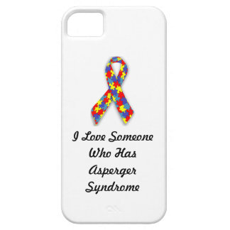 I Love Someone Who Has Asperger Syndrome iPhone 5 Case