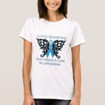 I love Someone Who Needs A Cure from Scleroderma T-Shirt
