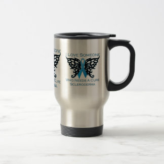 I love Someone Who Needs A Cure from Scleroderma Travel Mug