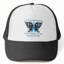 I love Someone Who Needs A Cure from Scleroderma Trucker Hat
