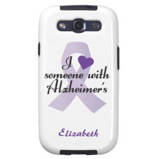 I Love Someone with Alzheimers Galaxy S3 Cover