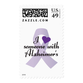 I Love Someone with Alzheimers Postage